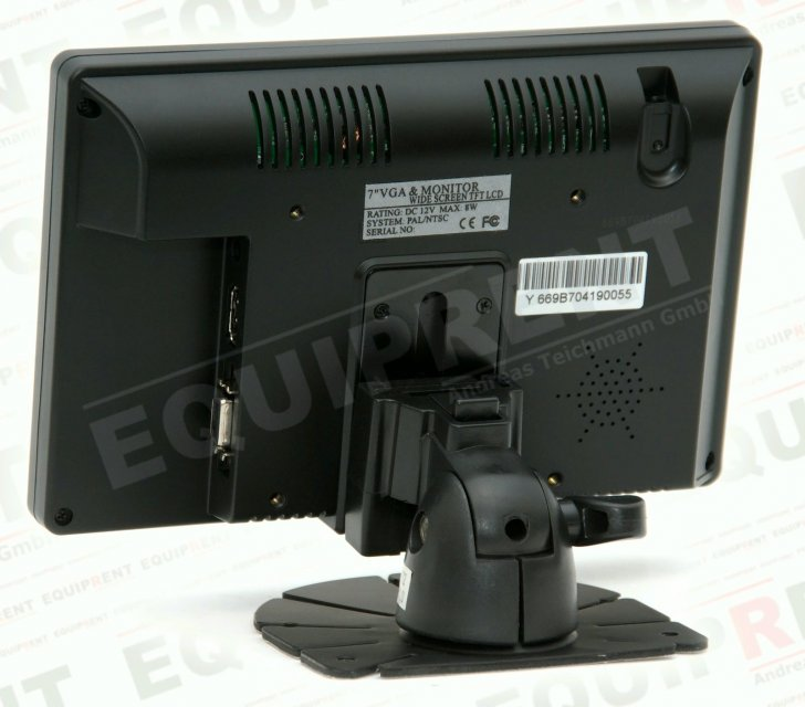 Lilliput 669GL-70NP: 18cm/7 Zoll TFT Monitor - 800x480 - HDMI/DVI/FBAS Foto Nr. 1