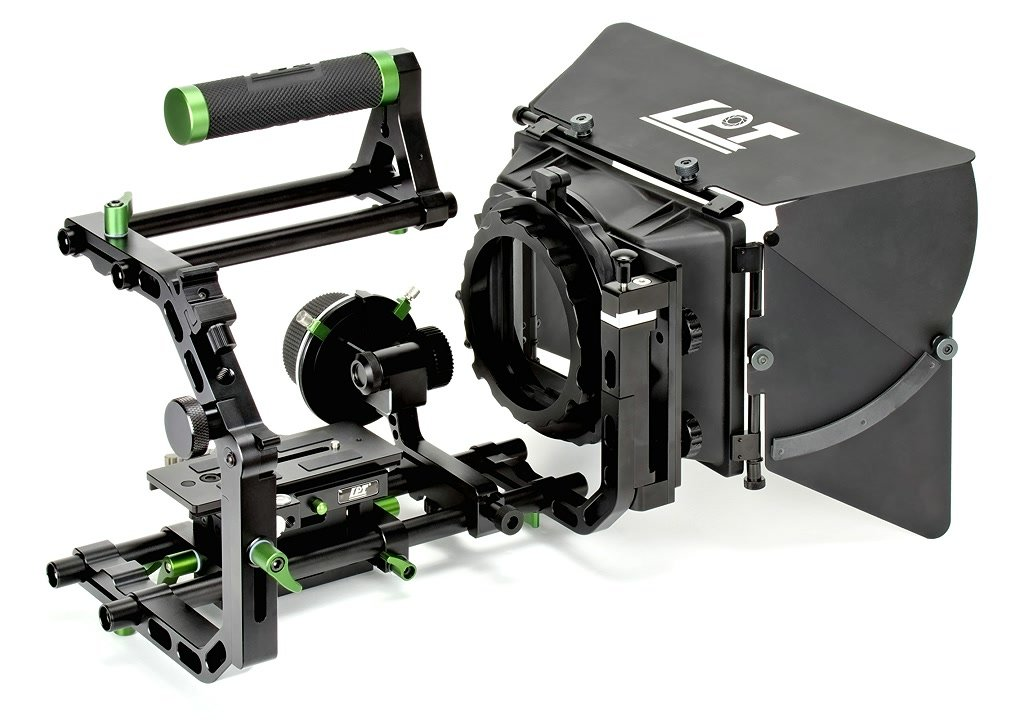 Lanparte DSLR Cinema Bundle mit CA-01 C-Bracket.