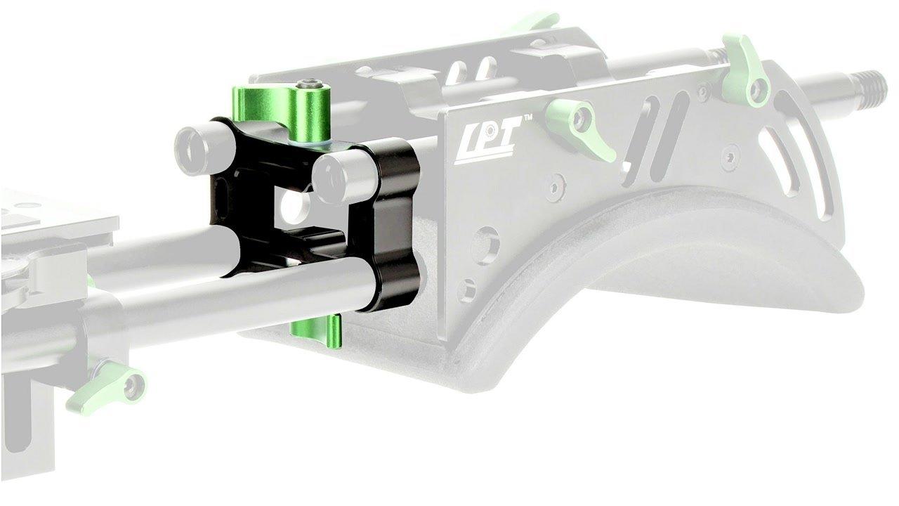 Mit dem Height Raiser lassen sich 15mm Rods in der Höhe verändern.