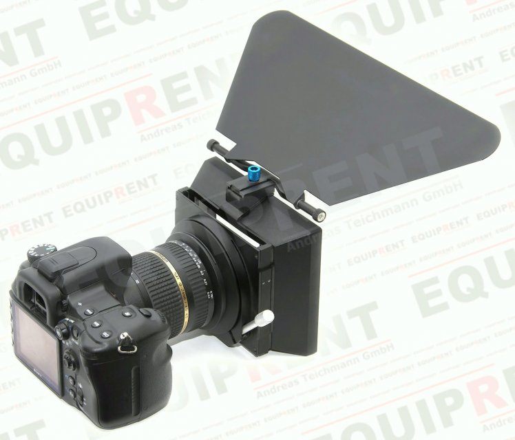 Proaim MB95 Matte Box mit Canon EOS 650D.
