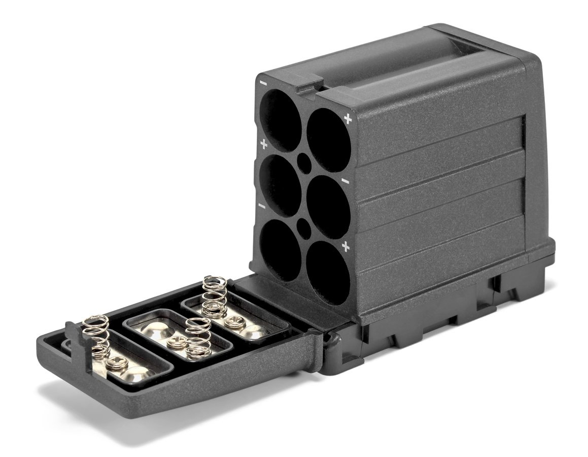 ROKO AA/NP-F LR6 Batterieadapter auf NP-F.