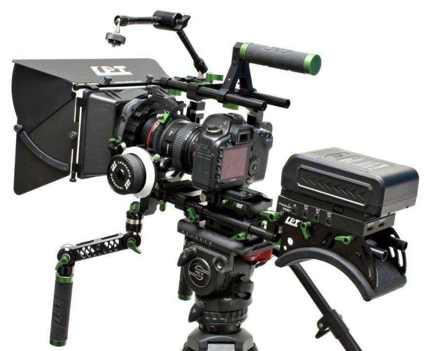 Lanparte PK-01 Professional Kit - Ultimatives DSLR und Camcorder Rig.