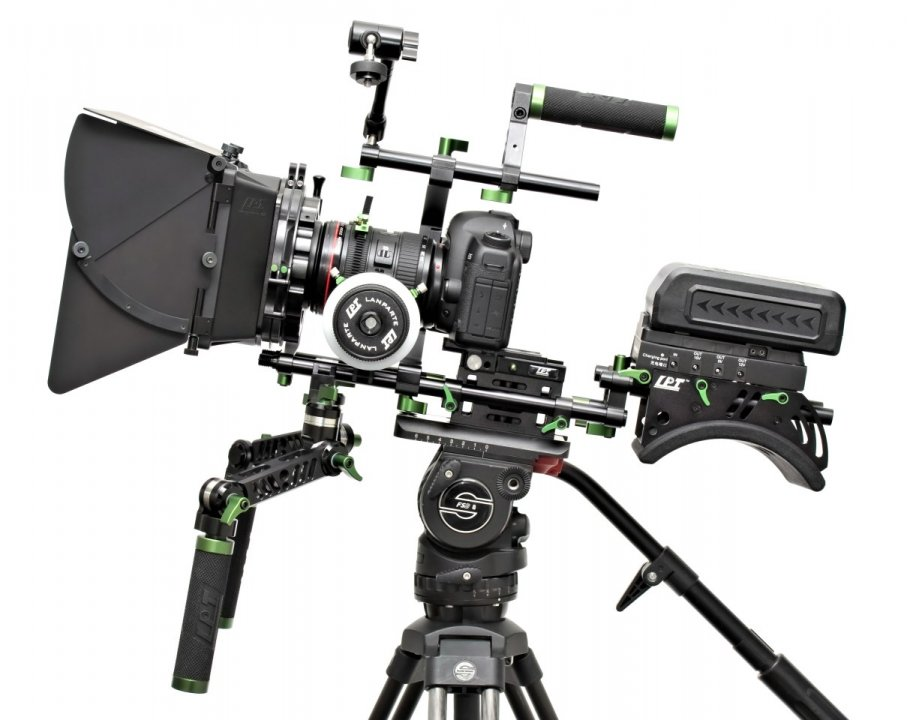 Lanparte PK-01 Professional Kit - Ultimatives DSLR und Camcorder Rig Foto Nr. 1