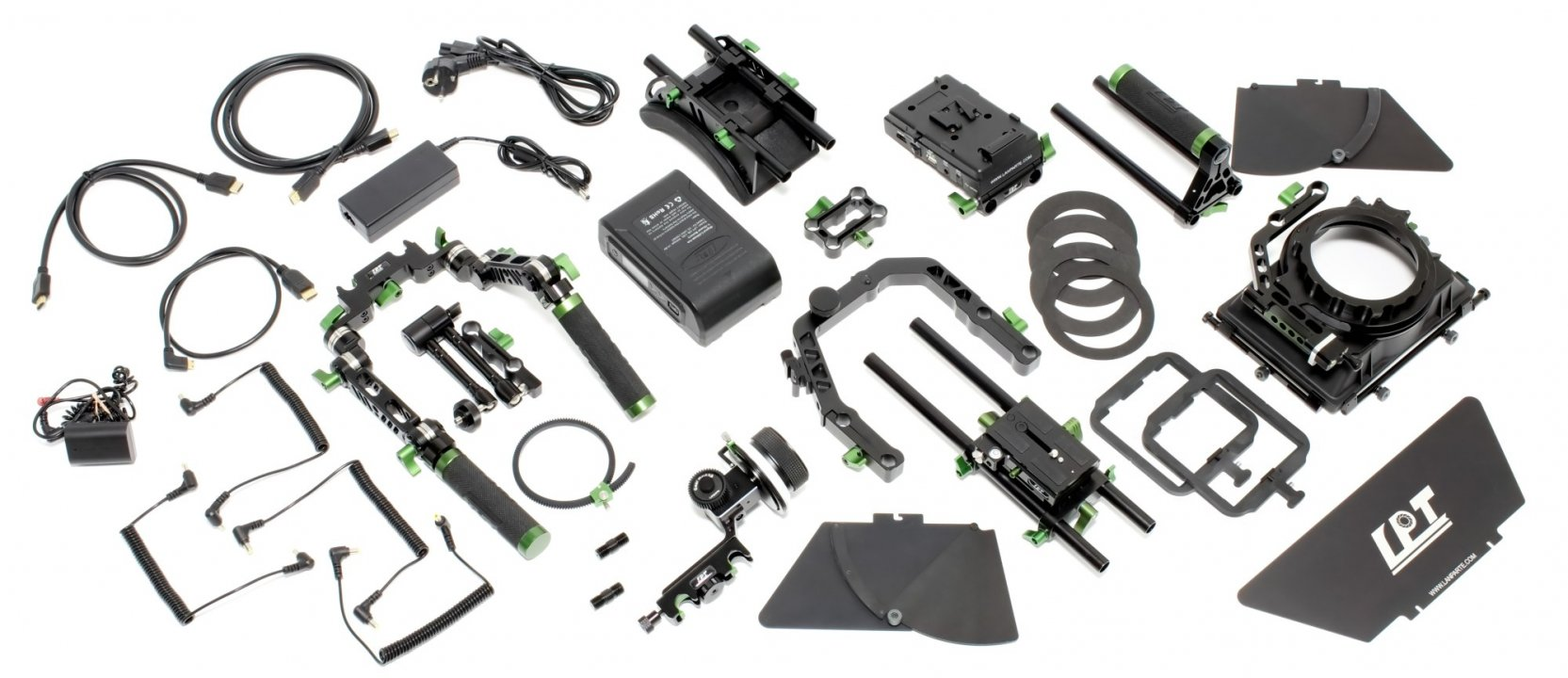 Lanparte PK-01 Professional Kit - Ultimatives DSLR und Camcorder Rig Foto Nr. 11