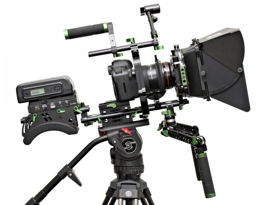 Lanparte PK-01 Professional Kit - Ultimatives DSLR und Camcorder Rig Foto Nr. 2