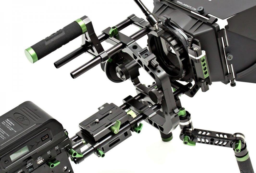 Lanparte PK-01 Professional Kit - Ultimatives DSLR und Camcorder Rig Foto Nr. 5