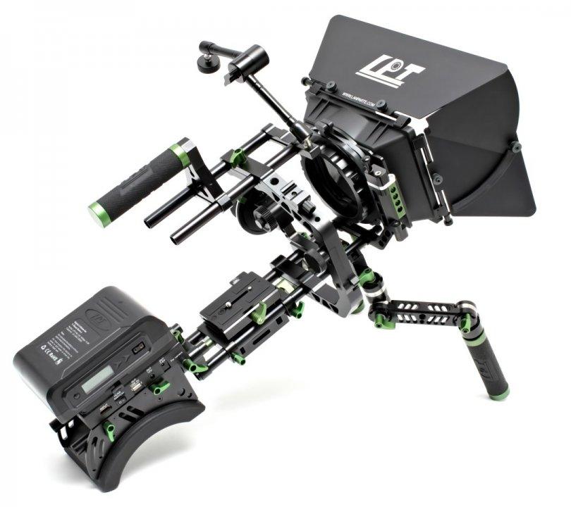 Lanparte PK-01 Professional Kit - Ultimatives DSLR und Camcorder Rig Foto Nr. 6