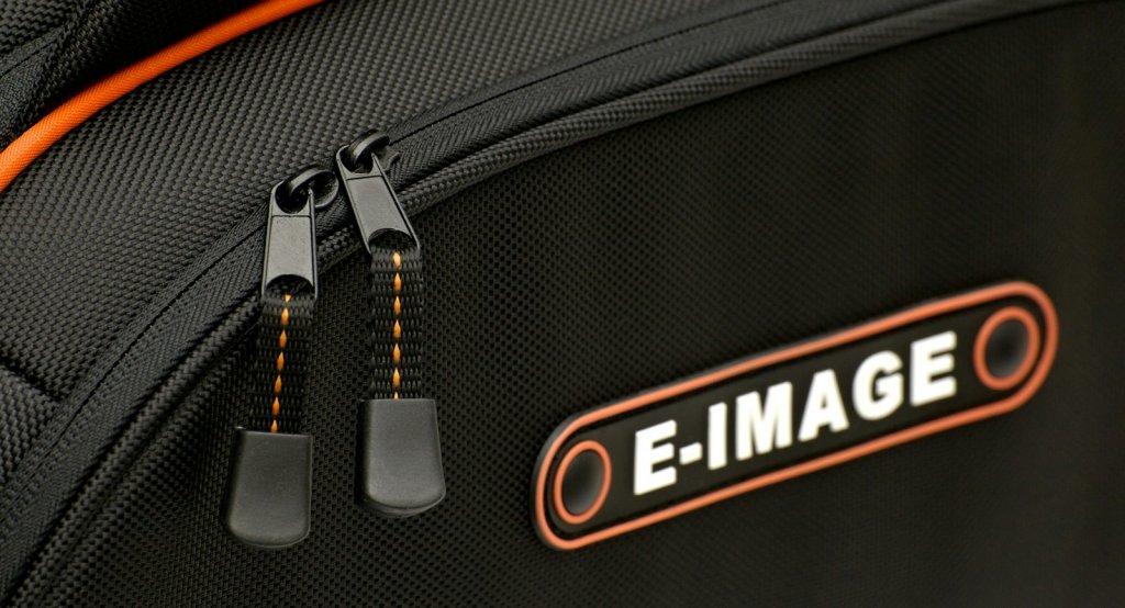 Reissverschlüsse der E-IMAGE Oscar S Kameratasche.