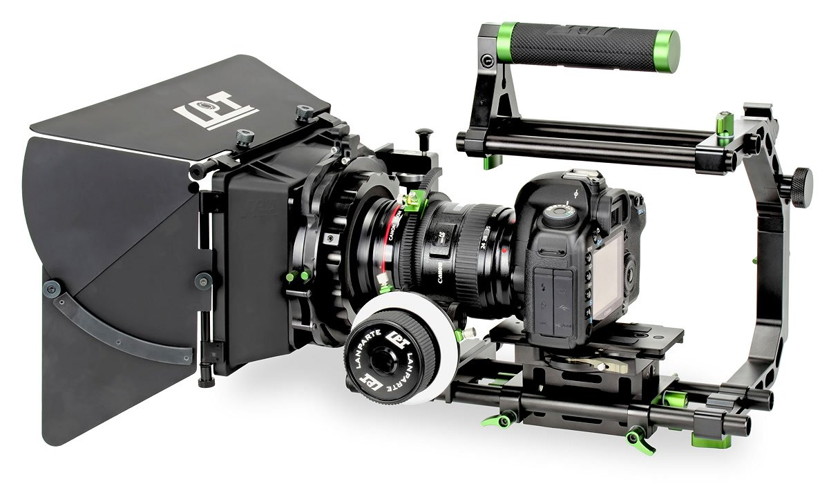 Lanparte DSLR Cinema Bundle/Camera Cage Kit für DSLR.