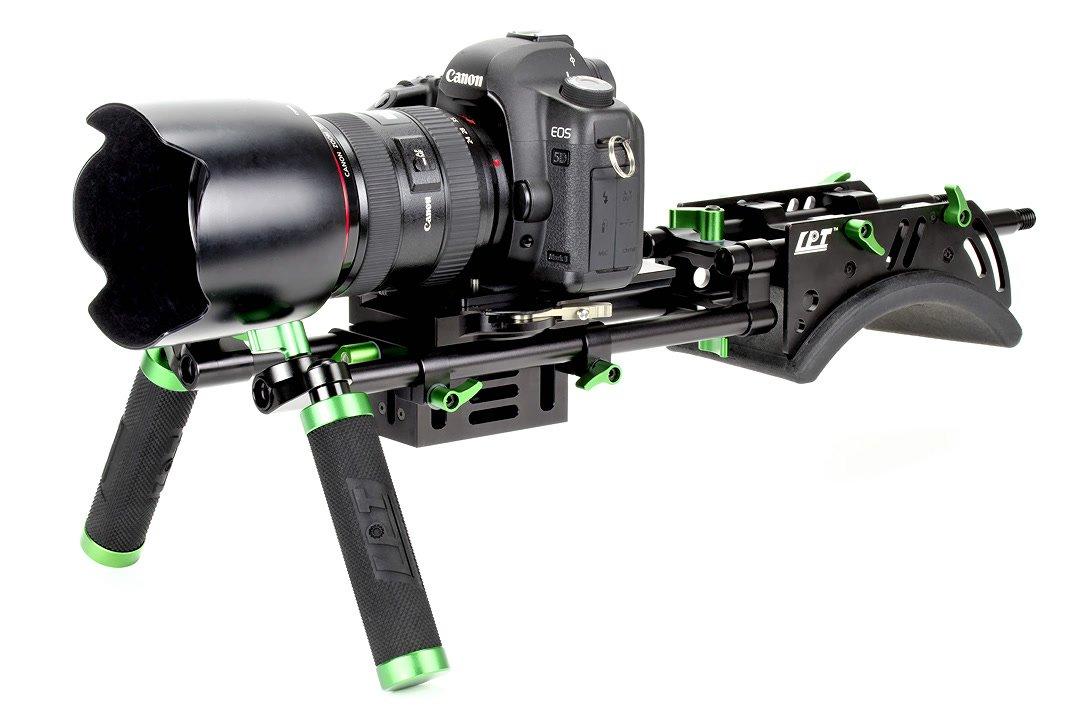 Canon 5D Mark II mit Lanparte Rig.