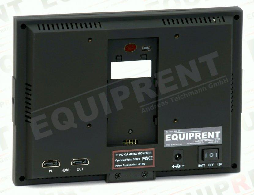 Lilliput 5D-II O/P: 18cm/7 Zoll TFT Monitor, 1024x600, Peaking Foto Nr. 1