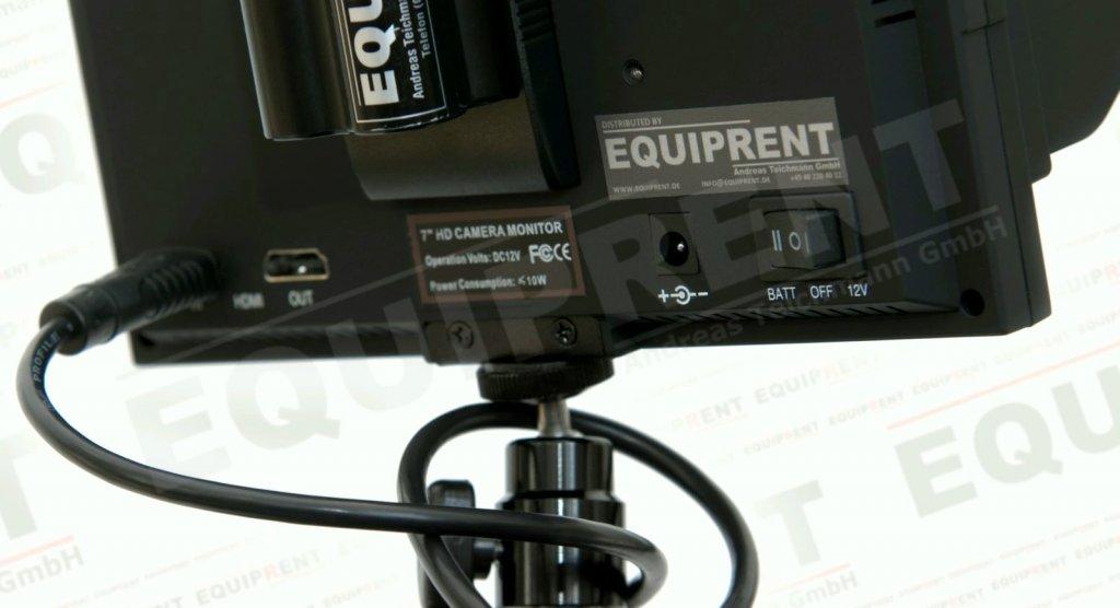Lilliput 5D-II O/P: 18cm/7 Zoll TFT Monitor, 1024x600, Peaking Foto Nr. 3