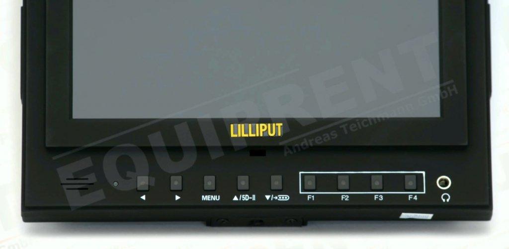Lilliput 5D-II O/P: 18cm/7 Zoll TFT Monitor, 1024x600, Peaking Foto Nr. 4