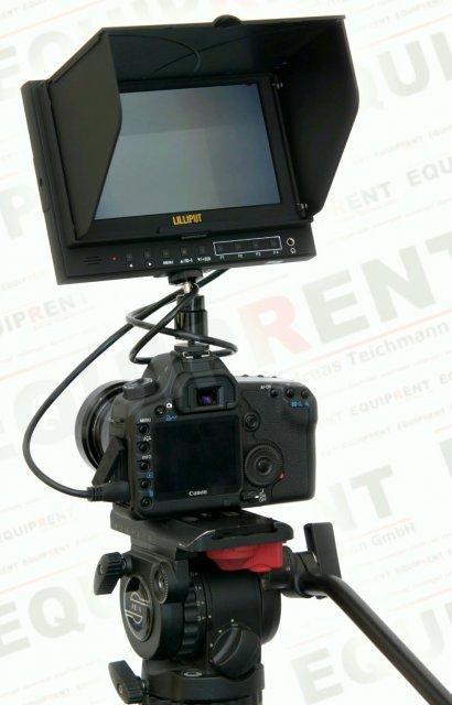 Lilliput 5D-II O/P: 18cm/7 Zoll TFT Monitor, 1024x600, Peaking Foto Nr. 6