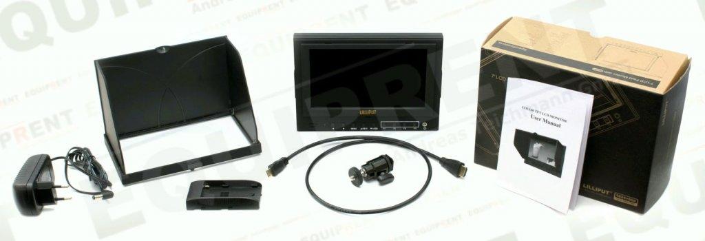 Lilliput 5D-II O/P: 18cm/7 Zoll TFT Monitor, 1024x600, Peaking Foto Nr. 7