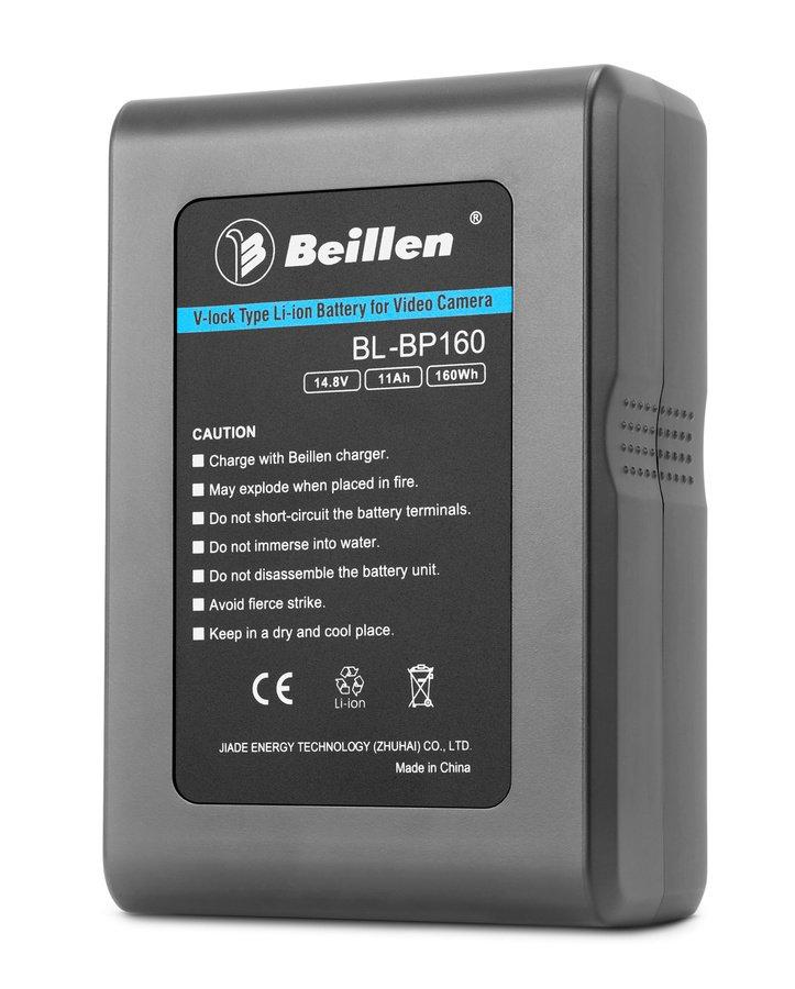 Beillen BL-BP160 professioneller V-Mount Akku für XDCAM Camcorder (160Wh).
