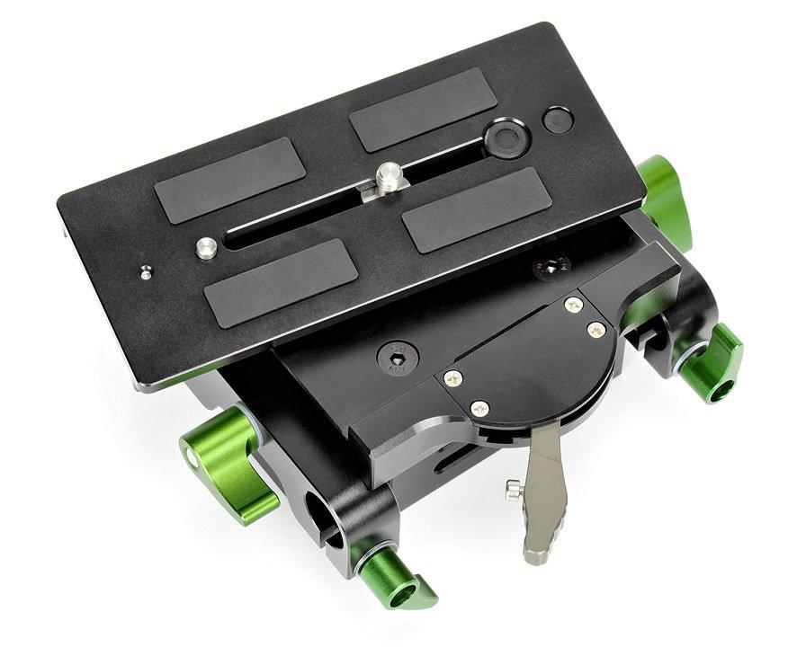 Baseplate hat eine abnehmbare Schnellwechselplatte.