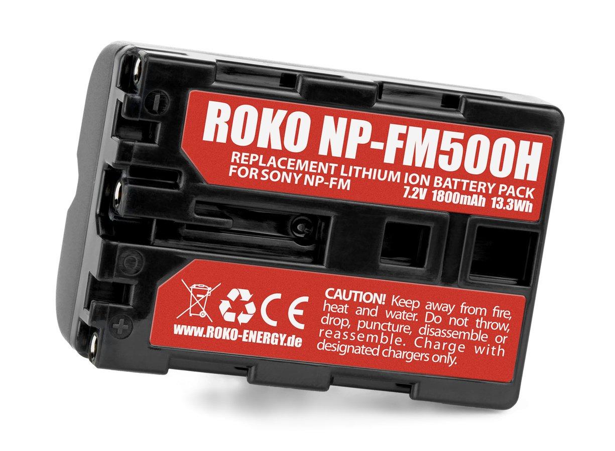 Label ROKO NP-FM500H Akku.