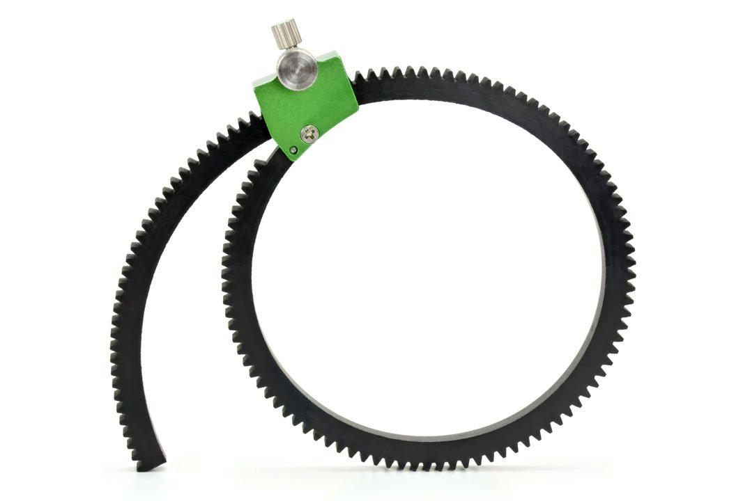 Lanparte FFGR-02 Zahnring / Lens Gear mit Mod 0.8 und Spannsystem.