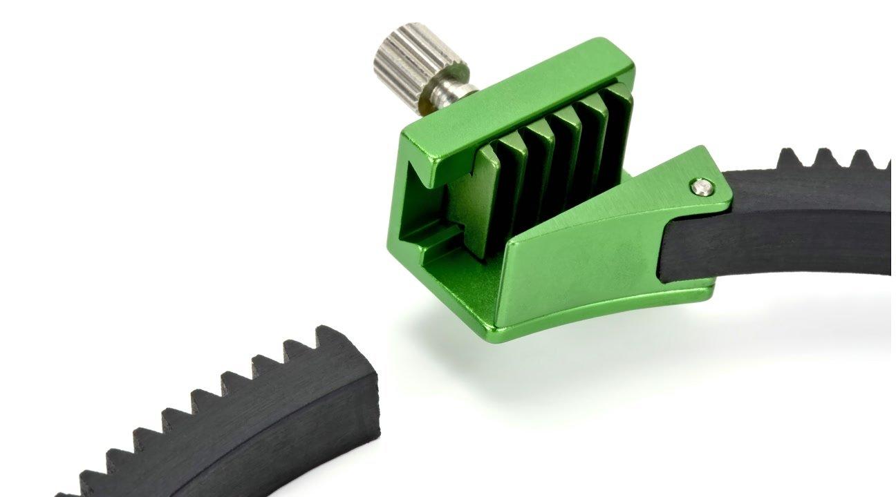 Verschiebbarer Verschluss vom Lanparte FFGR-02 Zahnring.