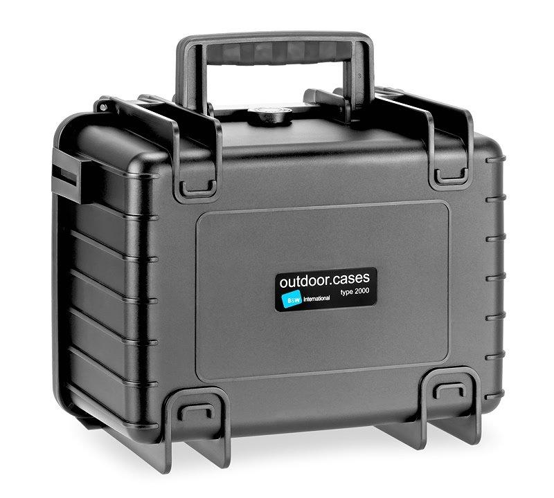 Der B&W type 2000 B SI Koffer lässt sich stapeln.