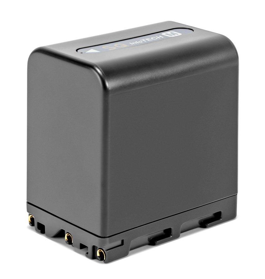 ROKO NP-FM90 Akku mit 35Wh und InfoChip für Sony Camcorder.