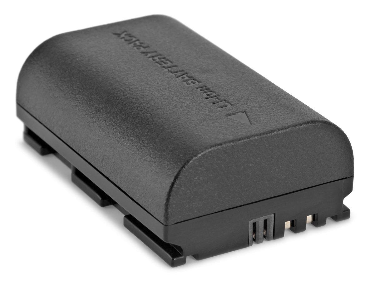ROKO LP-E6 Akku Unterseite.