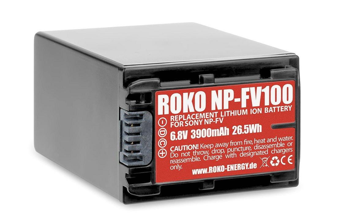 ROKO NP-FV100 für Sony Kamera.