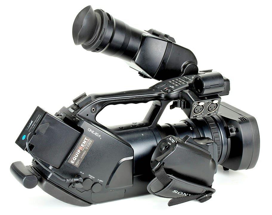 Sony EX3 mit BL-U65 Akku.