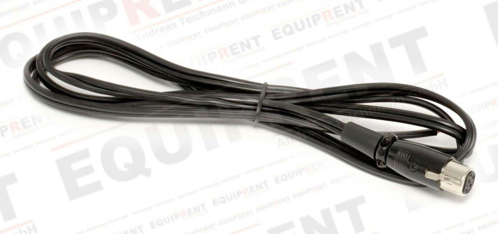 XLR 4-Pol Kabel mit Buchse (weiblich) und offenem Ende / 200cm Foto Nr. 2