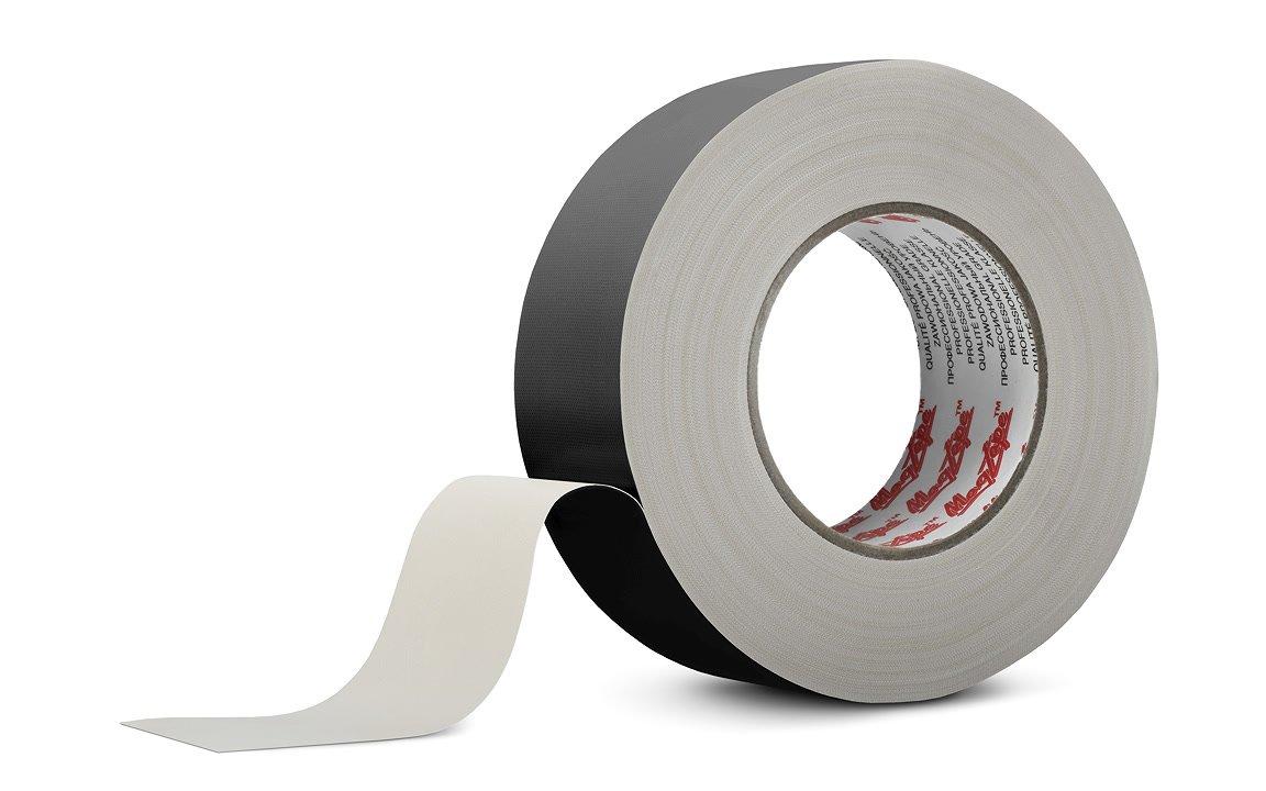 MagTape Original Pro Grade Duct / Gaffer Tape (schwarz) 50mm x 50m.
