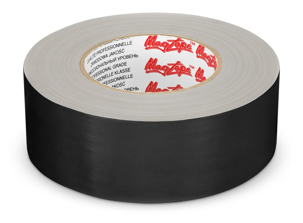 Gaffer Tape schwarz liegend.