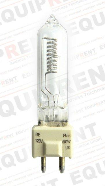 General Electric 30475 / Quartzline Brenner / 600W / 120V / GY9.5.