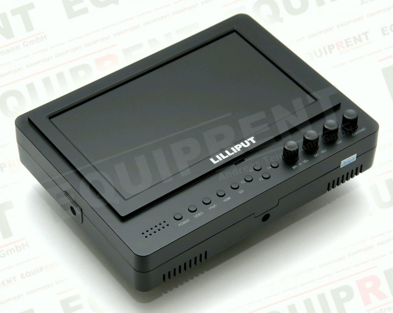 Lilliput 665GL-70NP O/P: 18cm/7 Zoll TFT HDMI Monitor mit Peaking Foto Nr. 2