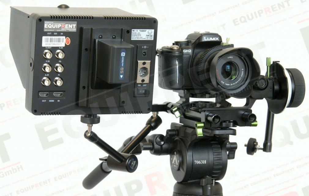 Lilliput 665GL-70NP O/P: 18cm/7 Zoll TFT HDMI Monitor mit Peaking Foto Nr. 3