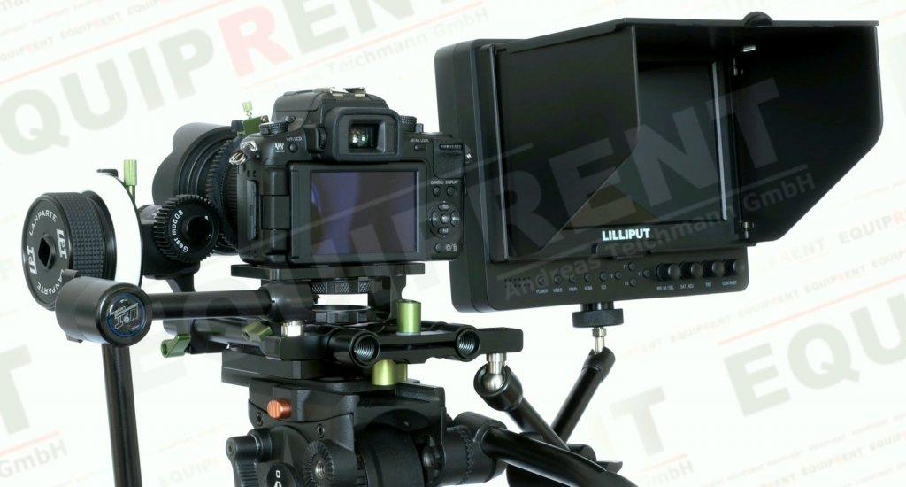 Lilliput 665GL-70NP O/P: 18cm/7 Zoll TFT HDMI Monitor mit Peaking Foto Nr. 4