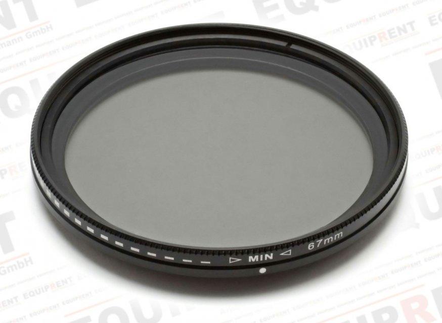 ROKO Slim Fader ND 67mm / Vari / Vario ND Filter (ND2-ND400) Foto Nr. 1