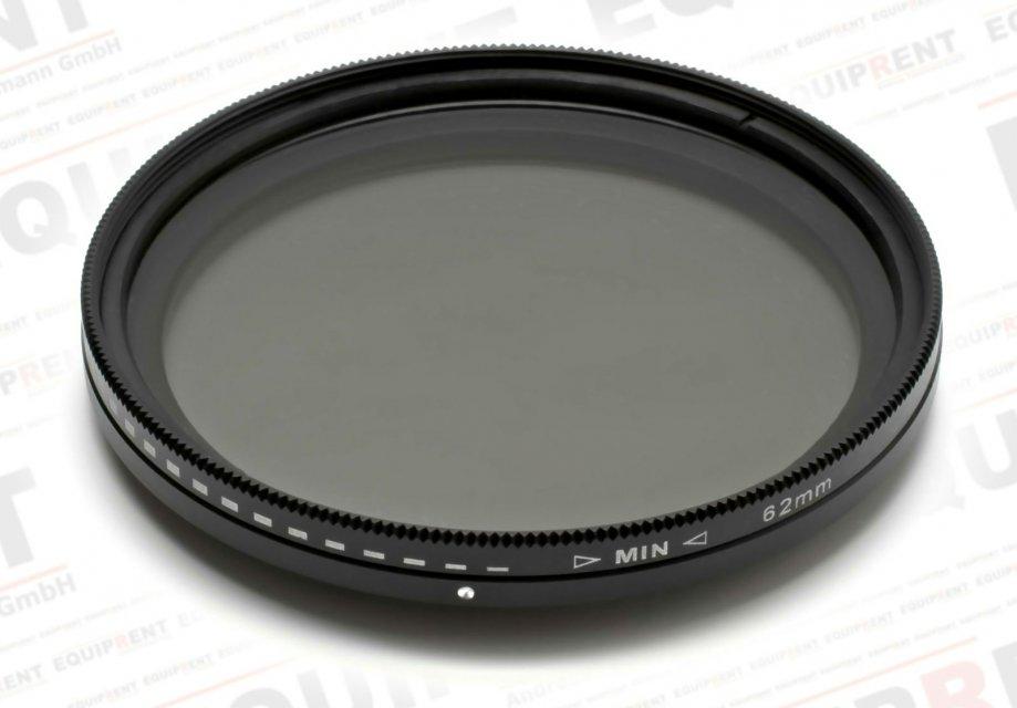ROKO Slim Fader ND 62mm / Vari / Vario ND Filter (ND2-ND400) Foto Nr. 1