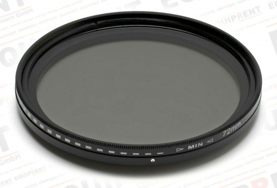 ROKO Slim Fader ND 72mm / Vari / Vario ND Filter (ND2-ND400) Foto Nr. 1