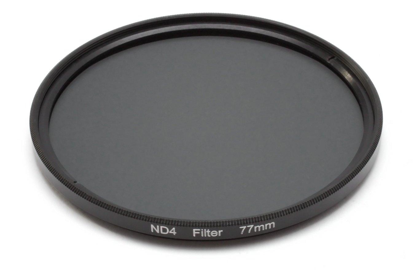 ROKO ND 0.6 Filter 77mm / ND4 / Neutral Density zum Einschrauben.