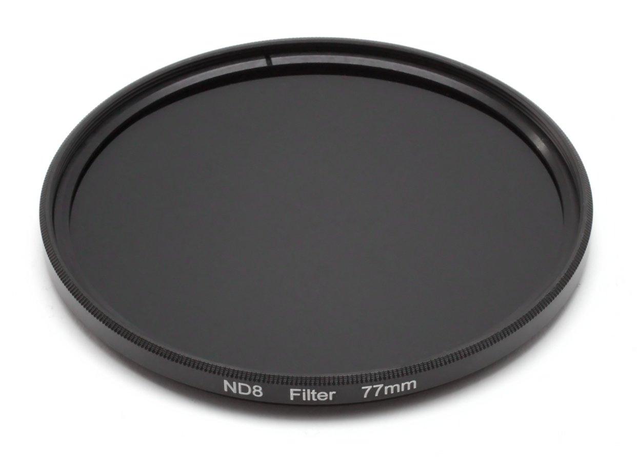 ROKO ND 0.9 Filter 77mm / ND8 / Neutral Density zum Einschrauben.