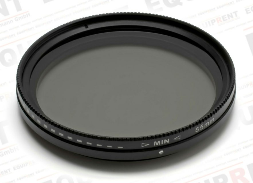 ROKO Slim Fader ND 55mm / Vari / Vario ND Filter (ND2-ND400) Foto Nr. 1