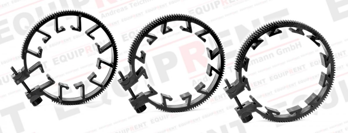 ROKO Zahnring Set / Lens Gears Kit 60-85mm für Mod 0.8 Follow Focus Foto Nr. 1
