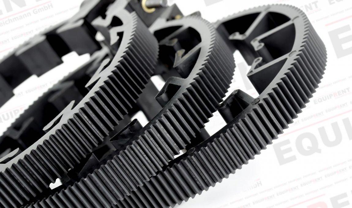 ROKO Zahnring Set / Lens Gears Kit 60-85mm für Mod 0.8 Follow Focus Foto Nr. 2