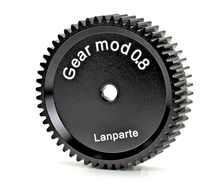 Lanparte FFG08-54 Mod 0.8 Zahnrad für Follow Focus (Cinema Objektive).