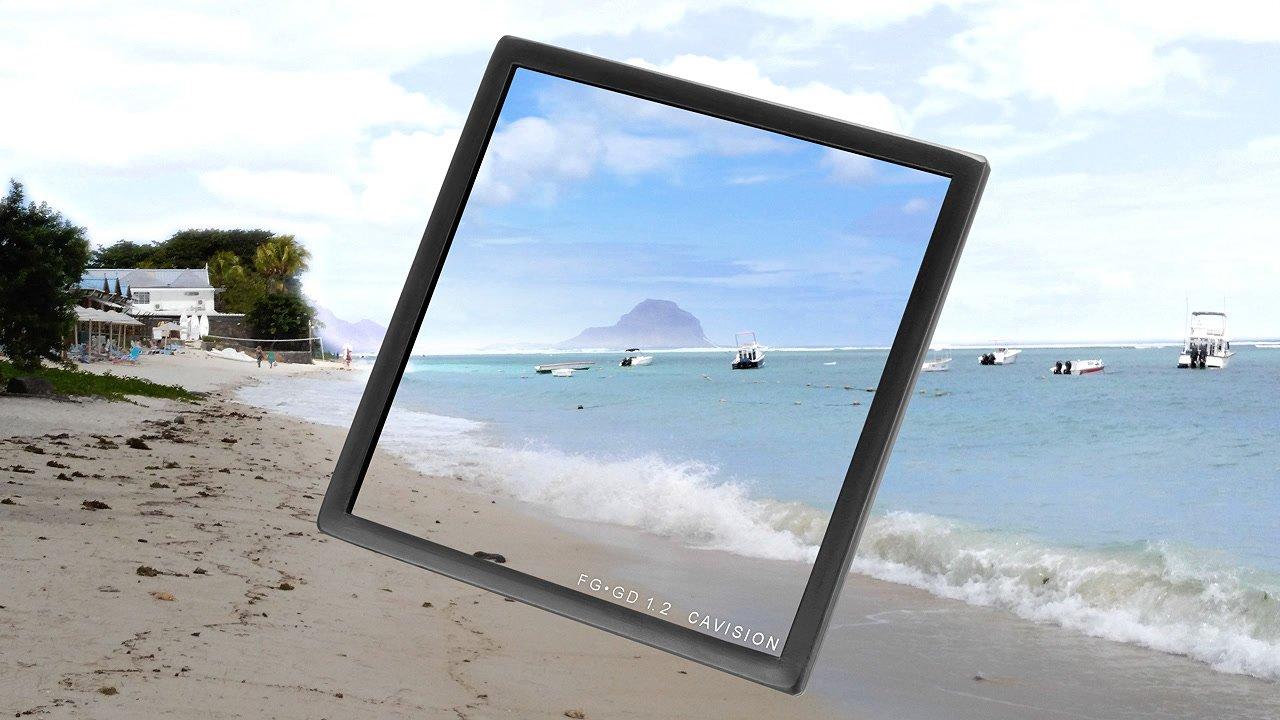 Anwendungsbeispiel Strand ND 1.2 Verlauf 4x4 Filter.