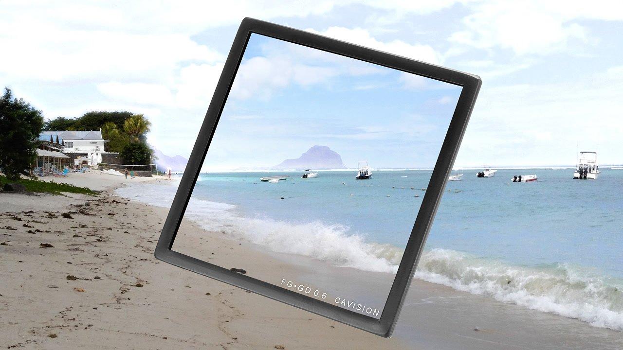 Anwendungsbeispiel Strand ND 0.6 Verlauf 4x4 Filter.