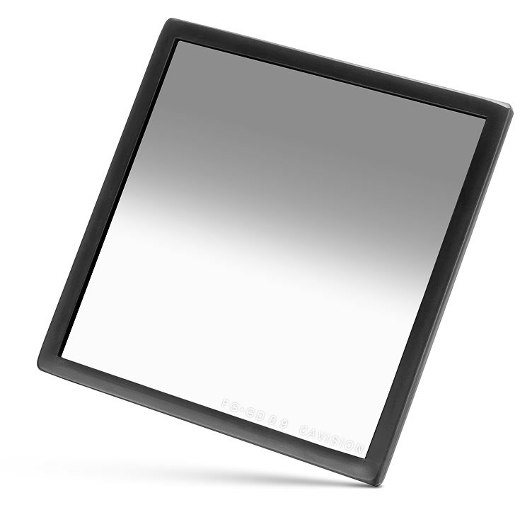 Cavision 4x4 Grad Neutral Density / ND Verlauf Filter 0.9 (FTG4X4GD09).
