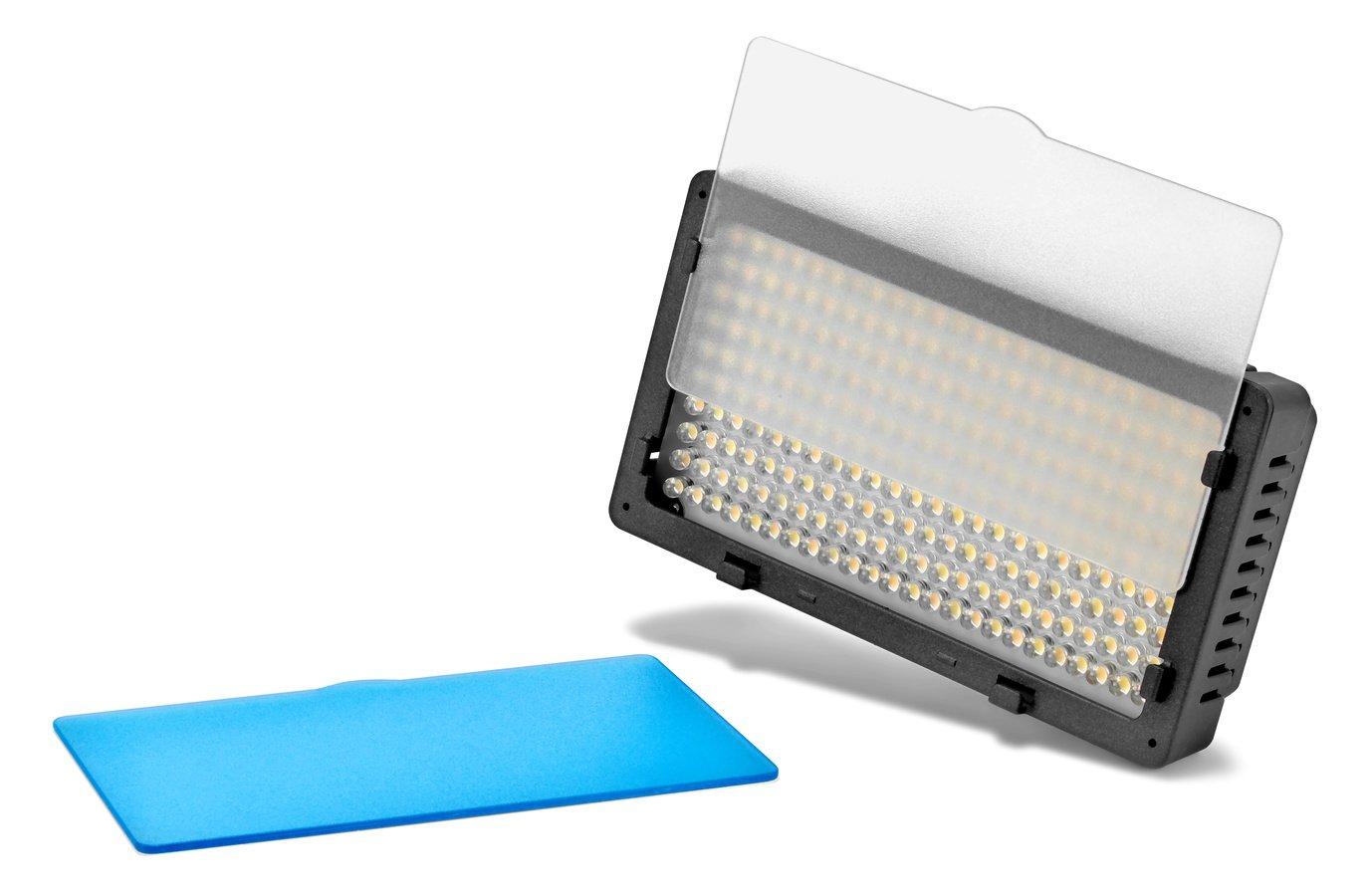 Vorne in die Leuchte können Diffusscheiben eingesetzt werden.