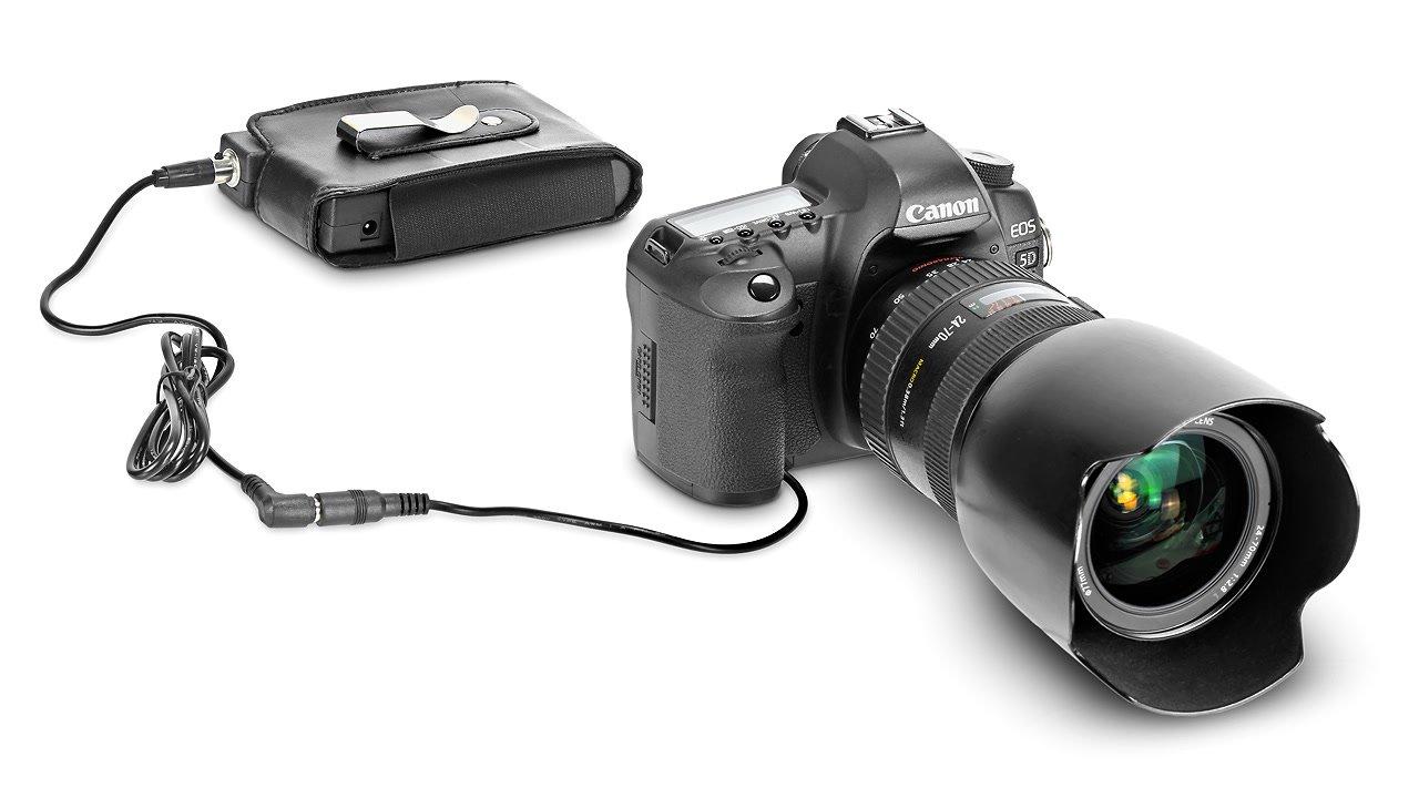 Lanparte PB-600-E6 Akkupack für Canon EOS DSLR mit LP-E6 (44.4Wh).